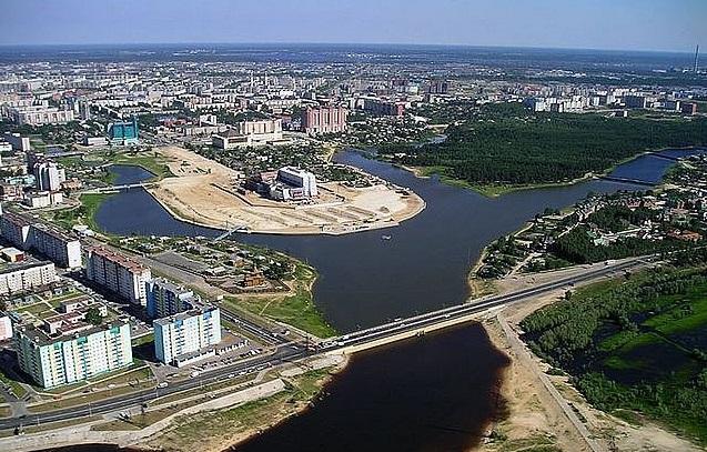 Город Сургут.